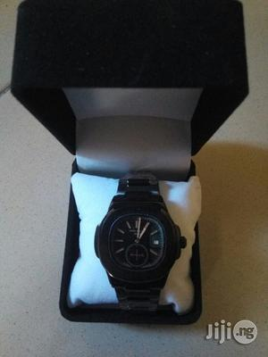 Patek Philippe Black Chain Wristwatch.   Watches for sale in Lagos State, Surulere