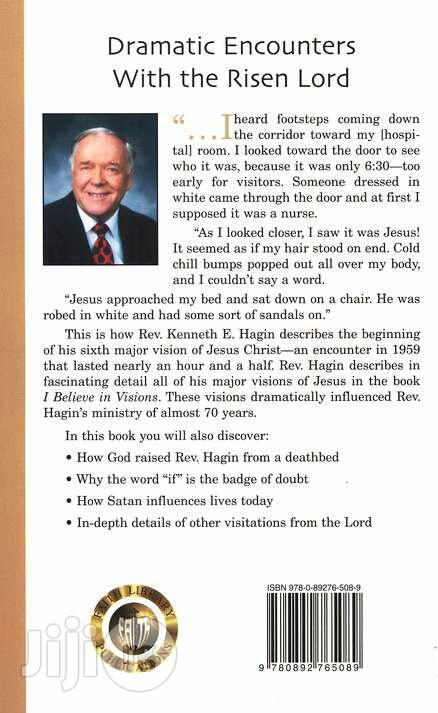 I Believe In Visions By: Kenneth E. Hagin   Books & Games for sale in Lagos State, Nigeria