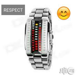 Skmei 1035 Men's Waterproof 3D Digital Watch | Watches for sale in Lagos State, Ikeja