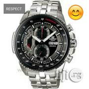 Casio Edifice EF-558 Silver Wrist Watch | Watches for sale in Lagos State, Ikeja