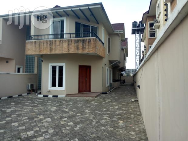 Archive: Available for Lease: 4 Bedroom Self Serviced Semi Detached House With an Attached Room Bq Off Ihuntayi Street, Oniru Estate, Lagos.