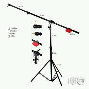 Heavy Duty Boom Arm Studio Light Stand With 5kg Counter | Accessories & Supplies for Electronics for sale in Lagos State, Lagos Island (Eko)