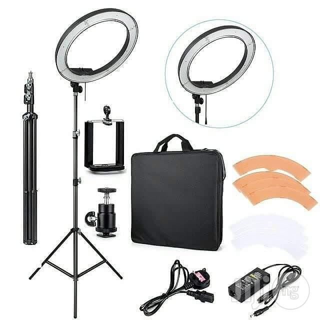 """18"""" Makeup / Studio Ring Light With Stand And Phone Holder"""