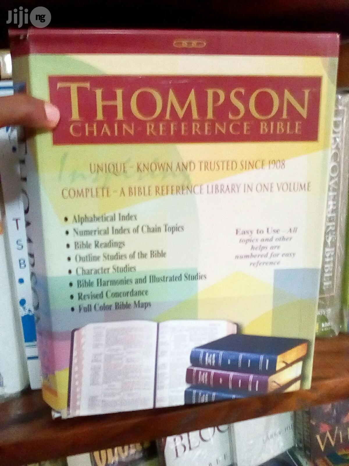 Thompson Chain Reference Study Bible L/C