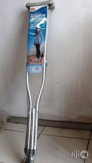 Underarm Aluminum Crutches   Medical Supplies & Equipment for sale in Lagos State, Ikeja