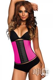 Ann Chery Short Torso Latex Waist Trainer Pink   Clothing Accessories for sale in Lagos State, Ikeja