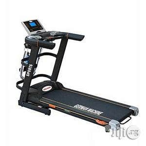 Brand New 3hp German Automatic Inclined Treadmill With Body Massager   Massagers for sale in Rivers State, Port-Harcourt