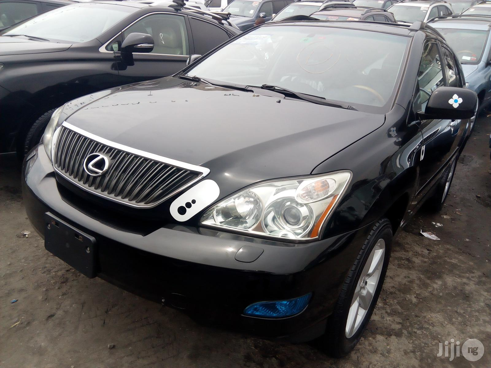 Lexus RX 2009 350 4x4 Black