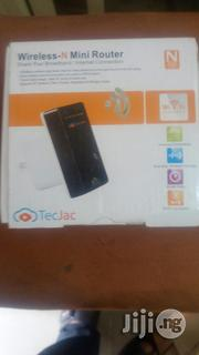 Tecjac Wireless-N Mini Router | Networking Products for sale in Lagos State, Ikeja