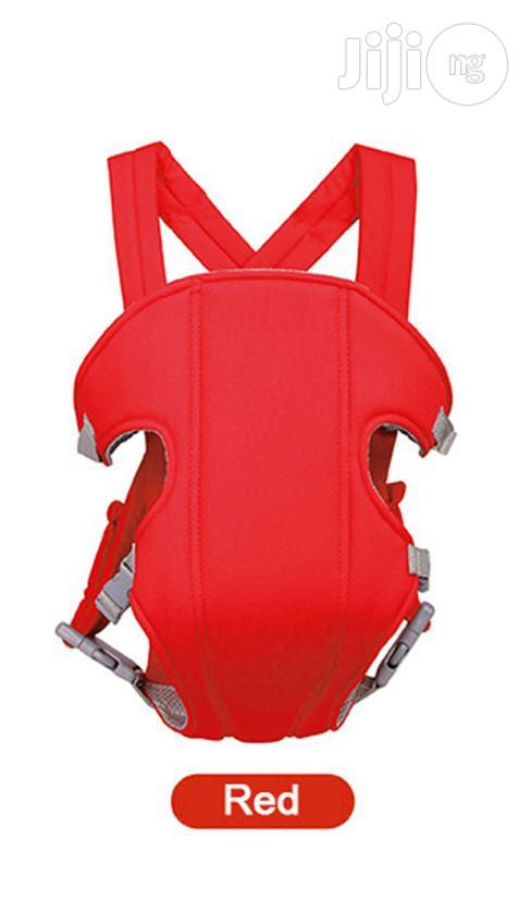 Universal Adjustable Baby Sling Breastfeeding Red