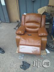 Pure Italian Leather Recliner Chair With Remot Control | Furniture for sale in Lagos State, Ikeja