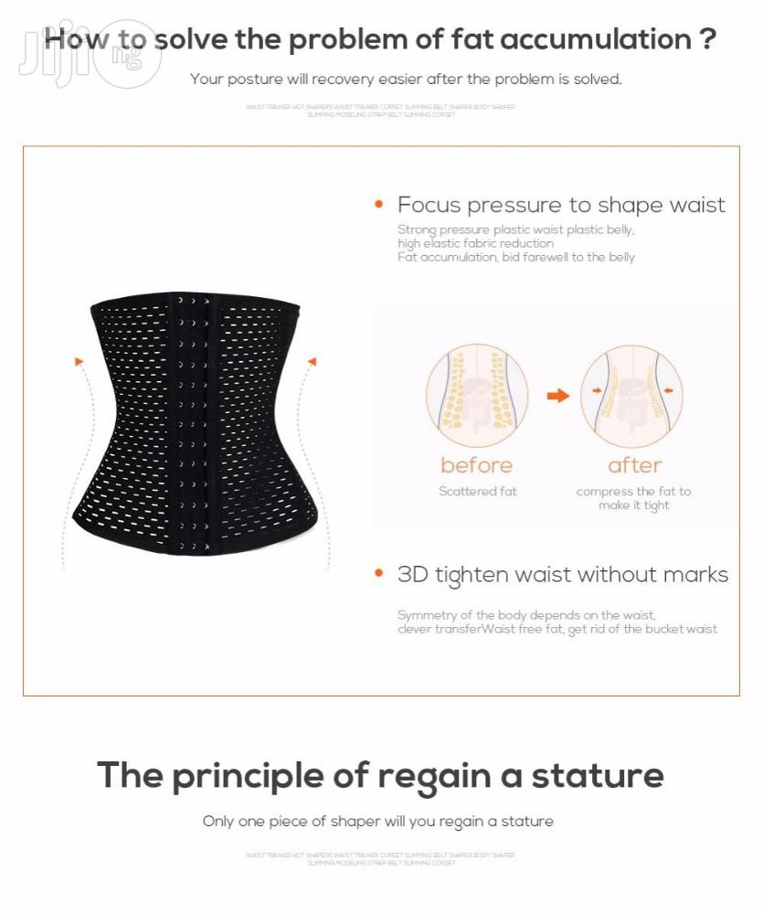 Generic Women Corset Hot Shapers Waist Trainer Corset Slimming Belt | Tools & Accessories for sale in Surulere, Lagos State, Nigeria