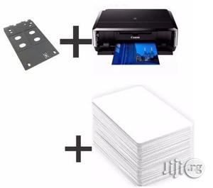 ID Card Business Printer + ID Card Tray + PVC ID | Printers & Scanners for sale in Lagos State, Ikeja