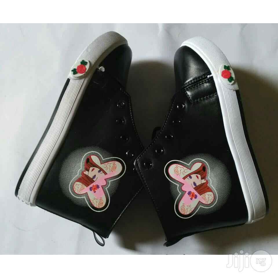 Girl's High Top Sneakers (Wholesale and Retail ) | Children's Shoes for sale in Ikeja, Lagos State, Nigeria