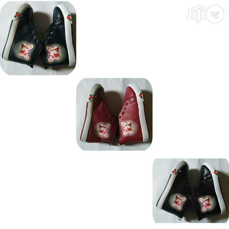 Girl's High Top Sneakers (Wholesale and Retail )