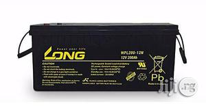 Long 200ah/12v Deep Cycle Battery   Solar Energy for sale in Lagos State, Ikeja