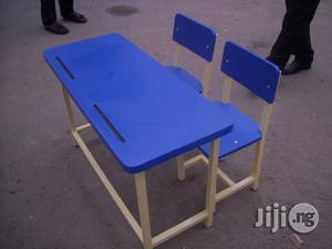 Double Jointed Classroom Furniture Available For Sale | Furniture for sale in Lagos State, Ikeja