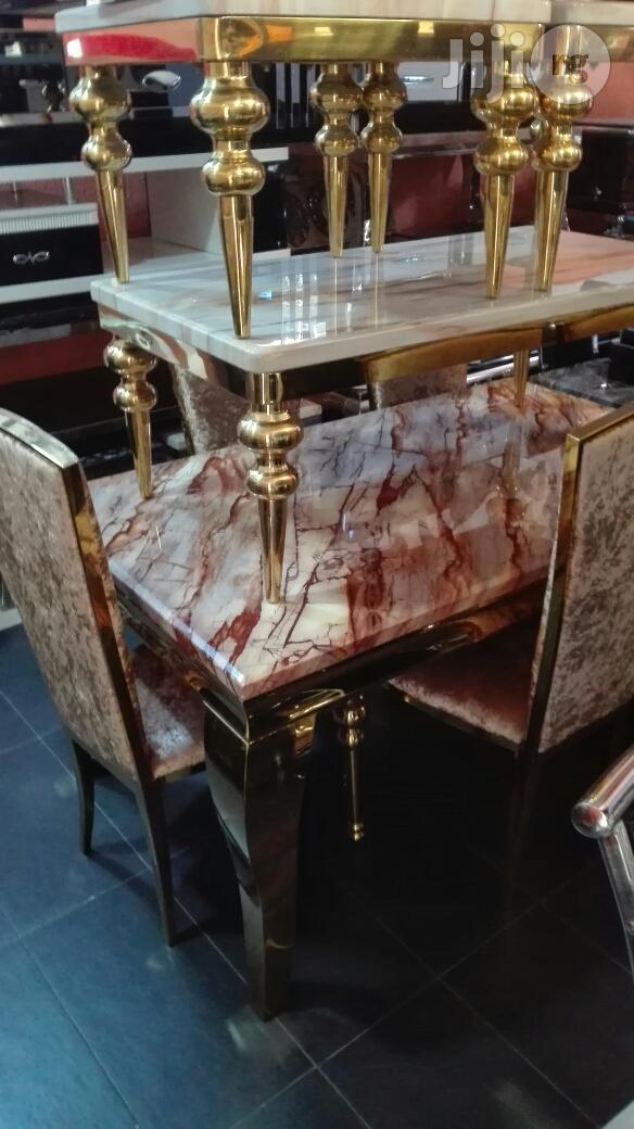 Italian Executive Marble Dinning Tables( 6 Chairs)