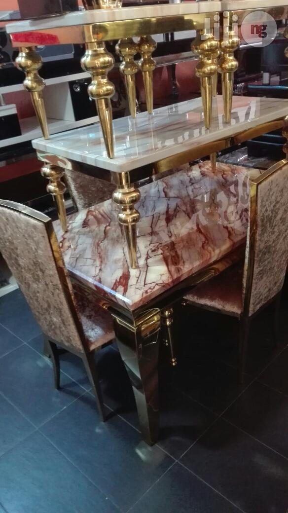 Italian Executive Marble Dinning Tables( 6 Chairs) | Furniture for sale in Lekki, Lagos State, Nigeria