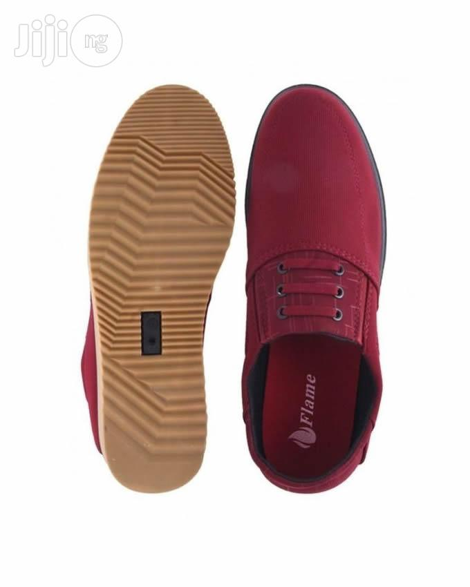 Flames Designers Sylish Loafers - Red | Shoes for sale in Agege, Lagos State, Nigeria