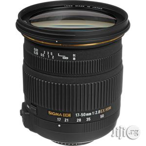 Sigma 17-50mm F2.8 Ex DC Os For Nikon And Canon Cmaeras | Accessories & Supplies for Electronics for sale in Lagos State, Lagos Island (Eko)