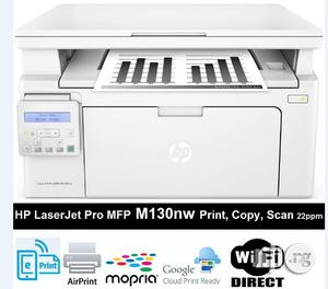 HP M130nw Laserjet Pro MFP (Scan, Copy, Print) 22ppm, Wifi | Printers & Scanners for sale in Lagos State, Ikeja