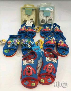 Assorted Toddlers Red Clifford and the Wiggles Sandal | Children's Shoes for sale in Abuja (FCT) State, Jabi