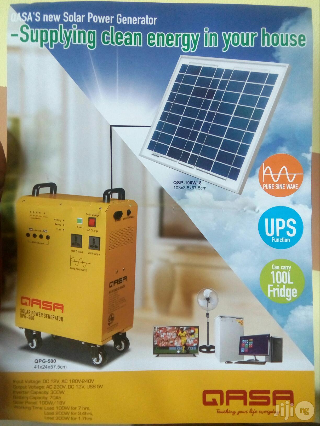 Qasa Solar Power Generator QPG-500