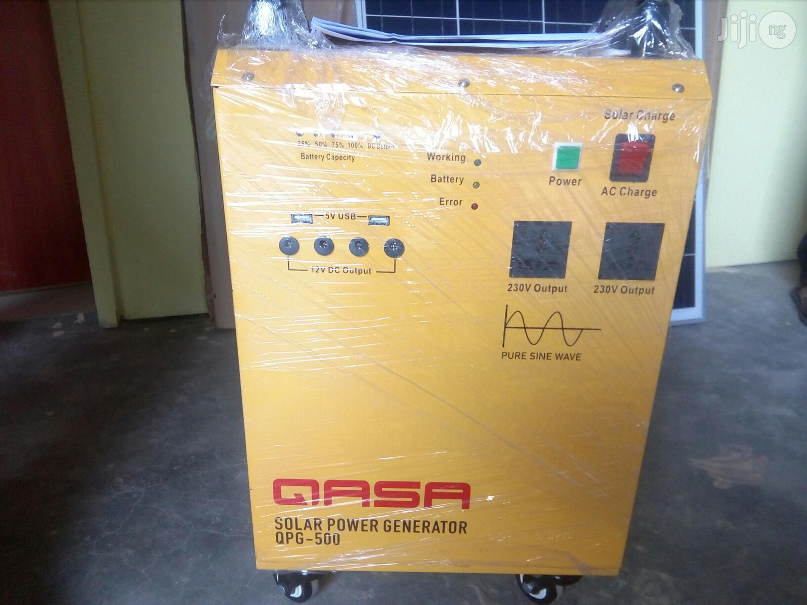 Qasa Solar Power Generator QPG-500   Solar Energy for sale in Wuse, Abuja (FCT) State, Nigeria