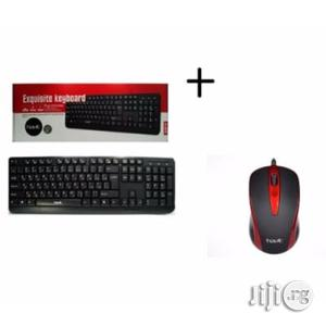 Havit Keyboard + Optical Mouse Combo   Computer Accessories  for sale in Lagos State, Ikeja