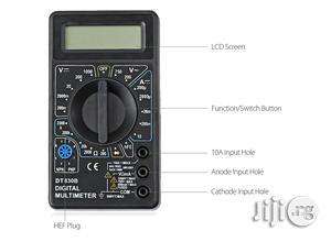 DT830B Digital Multimeter AC DC Tester | Measuring & Layout Tools for sale in Lagos State, Ikeja