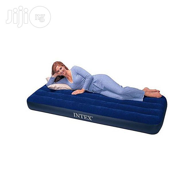 Intex Single Airbed With Pump