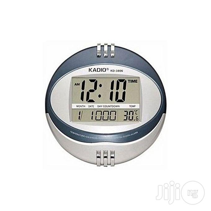 Mini Digital Wall Clock - Global Brand | Home Accessories for sale in Lagos Island, Lagos State, Nigeria
