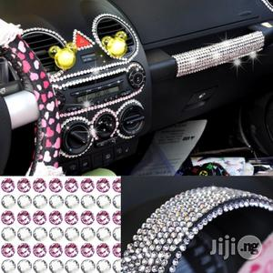468 PCS Glitter Crystal Diamond Shining Rhinestone For Car Sticker   Vehicle Parts & Accessories for sale in Lagos State, Ikeja