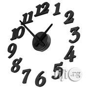 Creative DIY Adhesive Figure Wall Clock For Home Decoration | Home Accessories for sale in Lagos State, Ikeja