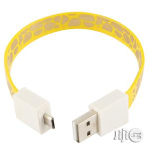 24cm Bracelet Style Micro USB Data Transfer & Charging Noodle Cable   Accessories & Supplies for Electronics for sale in Lagos State, Ikeja