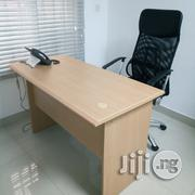 Beech Color 4ft Office Table | Furniture for sale in Lagos State, Victoria Island