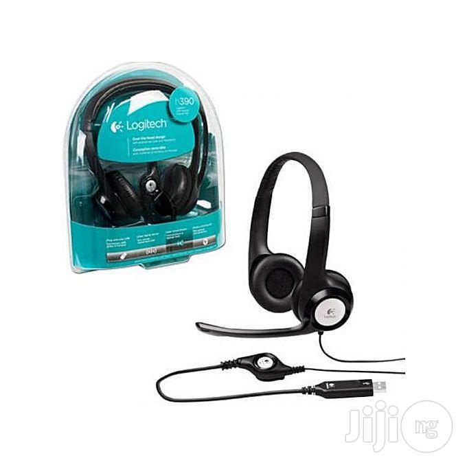 Logitech H390 Headset | Headphones for sale in Ikeja, Lagos State, Nigeria