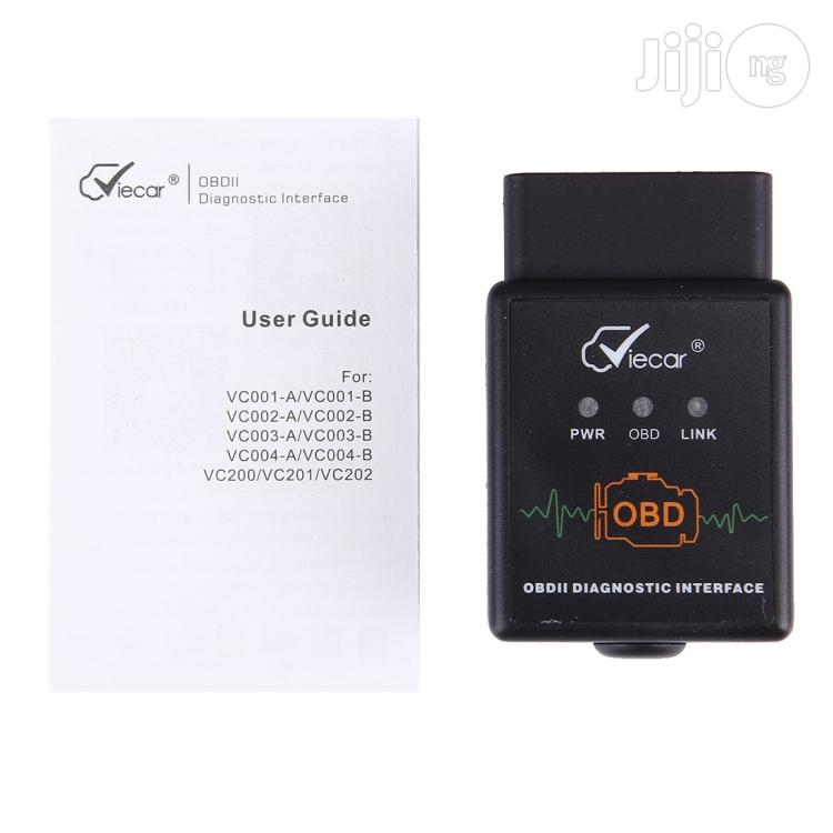 Viecar VC002-B Mini OBDII ELM327 Bluetooth Car Scanner Diagnostic Tool
