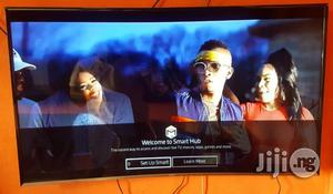 "Cheap UK Samsung 55"" Full High Definition Curved Smart TV UE55J6300   TV & DVD Equipment for sale in Lagos State, Ojo"