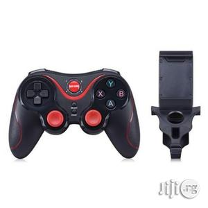S5 Wireless Bluetooth Controller Game Pad With Holder | Accessories & Supplies for Electronics for sale in Lagos State, Shomolu