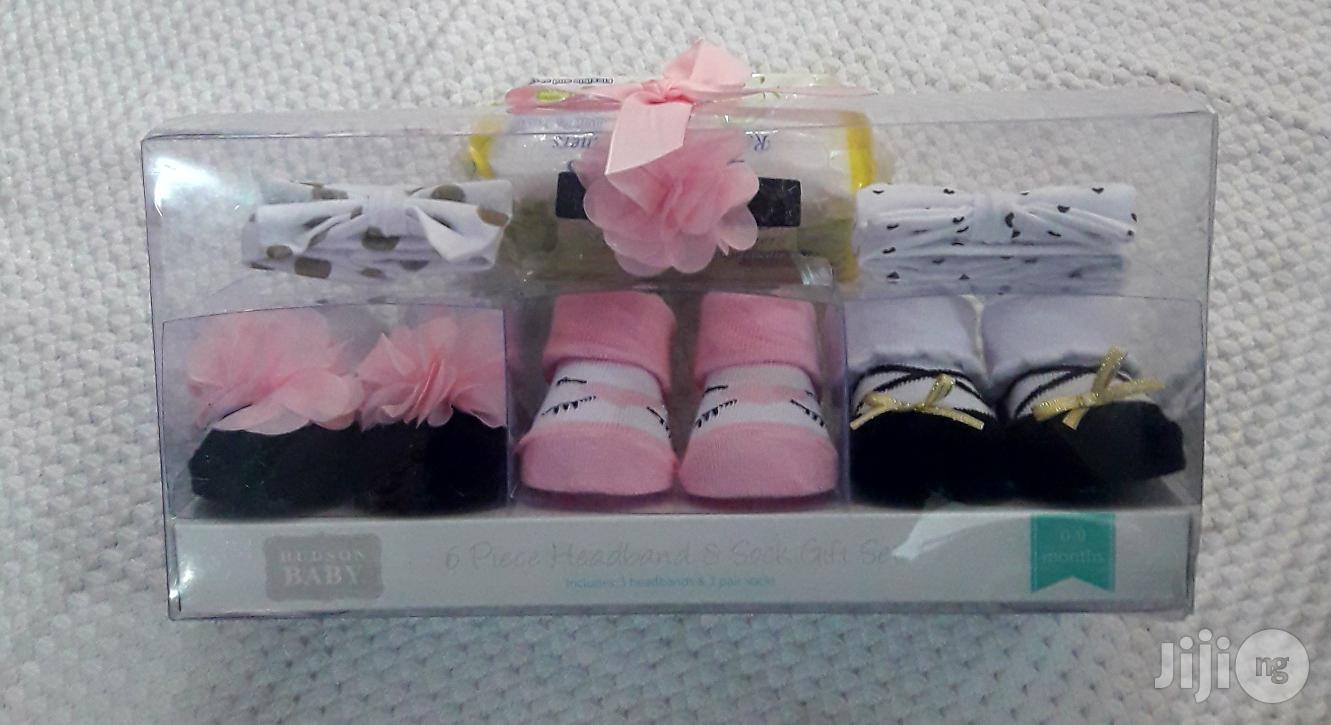 Baby Shoes Booties And Headband Set | Babies & Kids Accessories for sale in Ajah, Lagos State, Nigeria