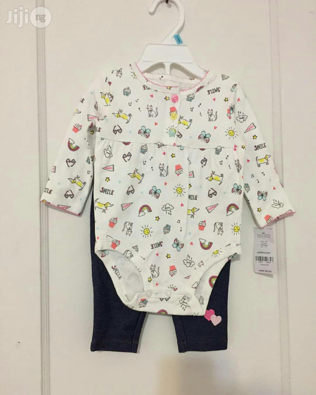 Carter's Baby Body Suit And Jeggings