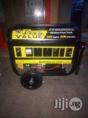 Power Value 3.5KVA Automatic Generator With Two Years Warranty.   Electrical Equipment for sale in Lagos State, Ojo