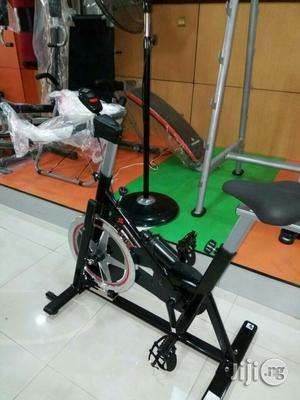 Spinning Bike Brown Colour | Sports Equipment for sale in Rivers State, Port-Harcourt
