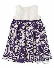 Gymboree Ivory/ Purple Floral Special Occassion Dress | Clothing for sale in Lagos State, Surulere