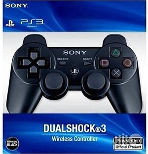 Brand New Sony PS3 Controller Pad - Dual Shock 3 Wireless Controller   Accessories & Supplies for Electronics for sale in Abuja (FCT) State, Wuse 2