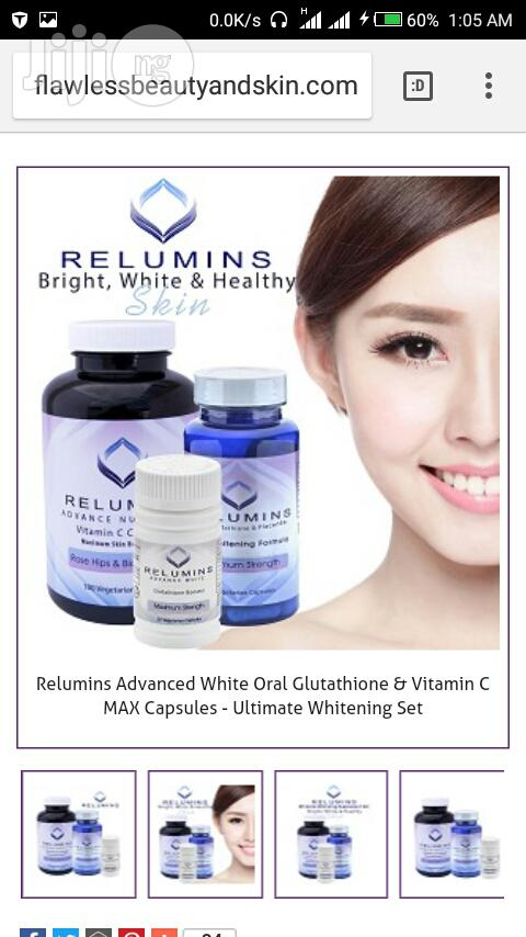 Dual Pack (2 In1)Gluthatione Capsule for a Total Whitening Spotless