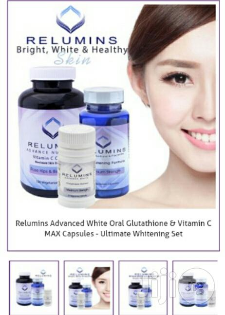 Dual Pack (2 In1)Gluthatione Capsule for a Total Whitening Spotless | Skin Care for sale in Wuse 2, Abuja (FCT) State, Nigeria