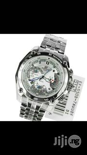 Casio Edifice EF-558 Silver Men's Watch | Watches for sale in Lagos State, Ikeja
